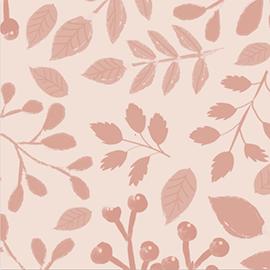 geboortekaartjes achtergrond botanisch patroon